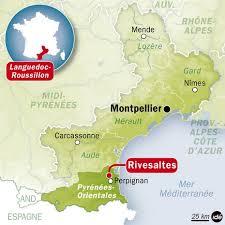 Localisation Rivesaltes